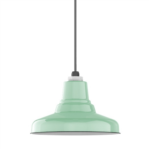 Fantastic Variety Of Union Lighting Pendants For Ivanhoe Union Porcelain Steel Shade Pendant Barn Light Electric (Image 7 of 25)