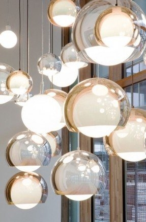 Fantastic Wellknown Bolio Pendant Lights Regarding Glass Globe Pendant Light Foter (Image 15 of 25)