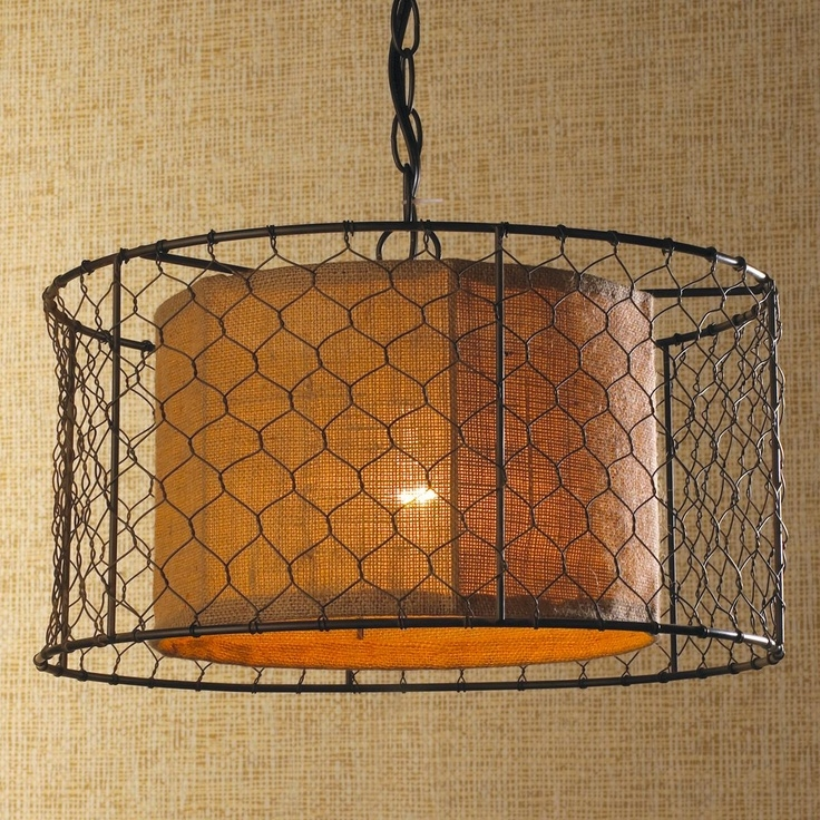 Fantastic Well Known Chicken Wire Pendant Lights Regarding 67 Best Design Lighting Images On Pinterest (Image 11 of 25)
