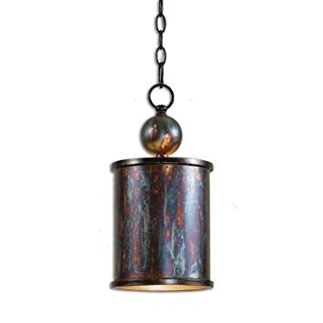 Fantastic Wellknown Copper Mini Pendant Lights Throughout Uttermost 21920 Albiano 1 Light Mini Pendant Ceiling Pendant (Image 11 of 25)