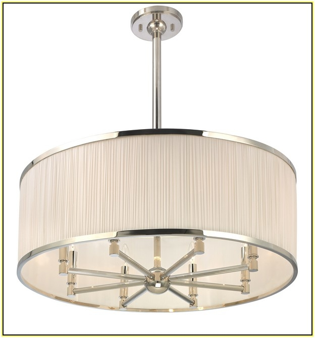 Fantastic Wellknown Ikea Drum Pendants With Chandelier Excellent Lowes Drum Chandelier Drum Shade Chandelier (Image 13 of 25)