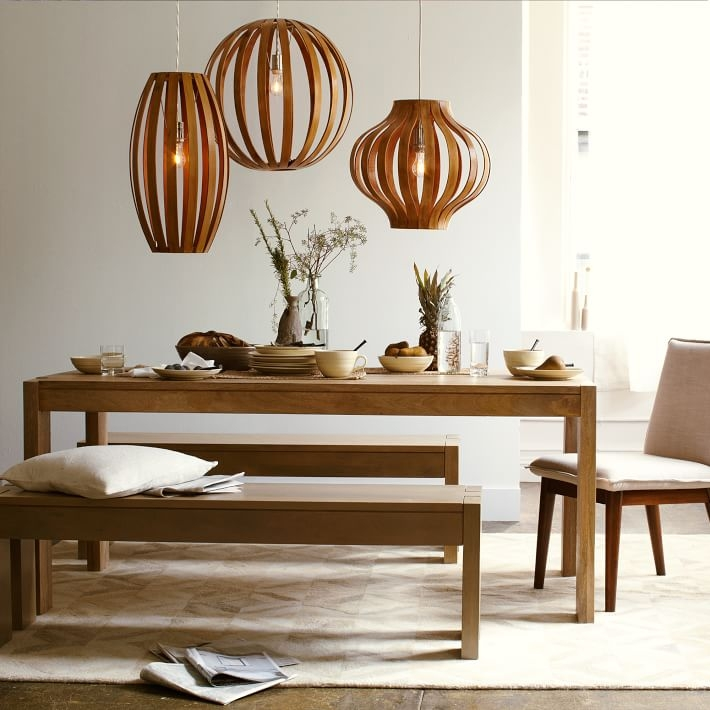 Fantastic Wellliked Bentwood Pendant Lights Inside Bentwood Pendants West Elm (View 5 of 25)