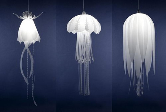 Fantastic Wellliked Jellyfish Inspired Pendant Lights Pertaining To Nice Decors Blog Archive Medusae Beautiful Pendant Lamps (View 6 of 25)