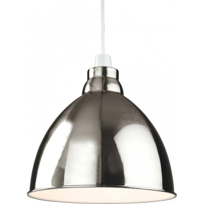 Fantastic Wellliked Union Lighting Pendants Throughout Firstlight Union Easy Fit Ceiling Light Pendant Shade In A Brushed (Image 8 of 25)