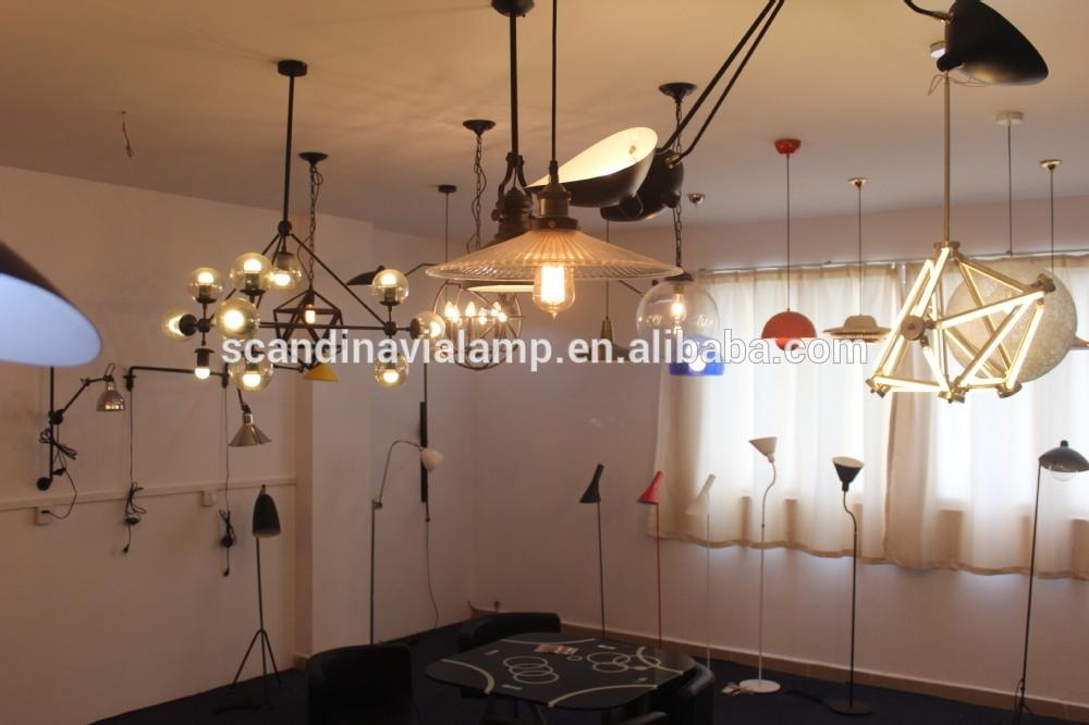 Fantastic Widely Used Bare Bulb Filament Pendants Regarding Wholesale Historic Factory Bare Bulb Filament Triple Pendant Lamp (View 22 of 25)