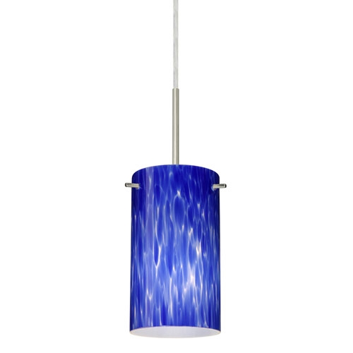Fantastic Widely Used Blue Pendant Light Fixtures Regarding Blue Mini Pendant Lighting Bellacor (View 4 of 25)