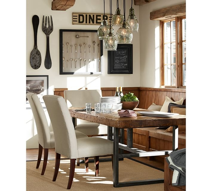Fantastic Widely Used Paxton Pendant Lights Within Vintage Wood Carved Medium Serve Bowl Pottery Barn (Image 12 of 25)