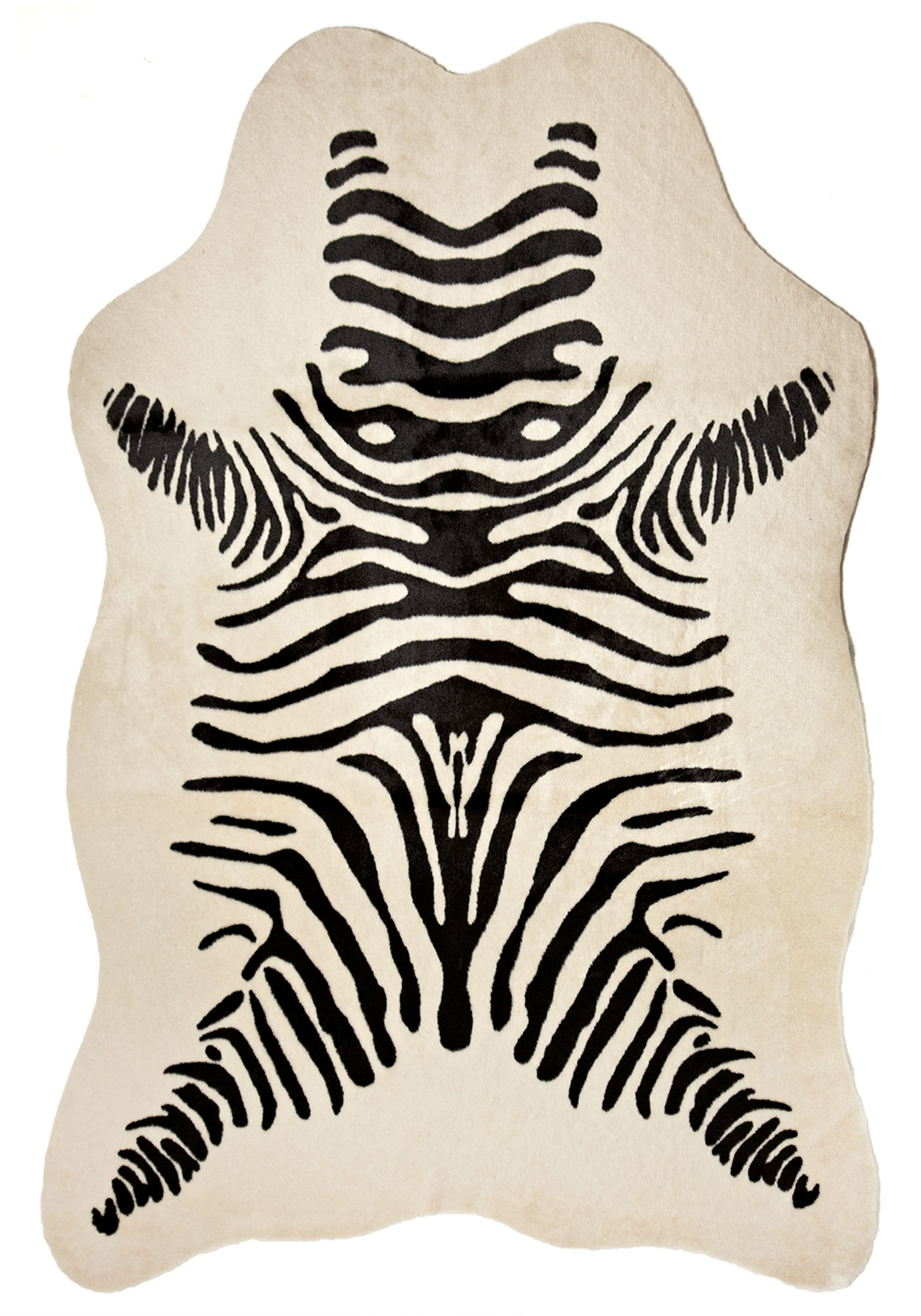 Faux Zebra Skin Rug Ideas Home Furniture Ideas With Zebra Skin Rugs (Image 4 of 15)