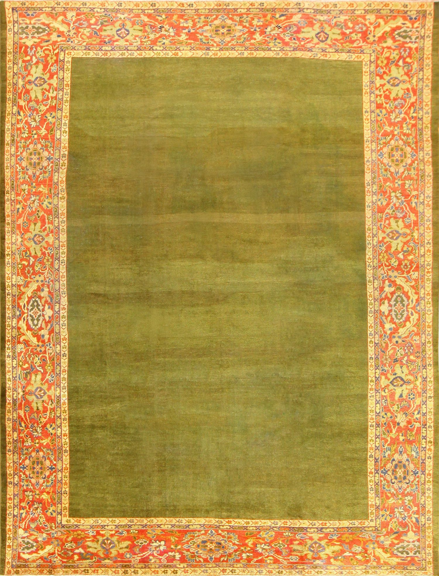 Festive Red And Green Antique Rugs For Your Home Holiday Decor With Regard To Olive Green Rugs (Image 1 of 15)