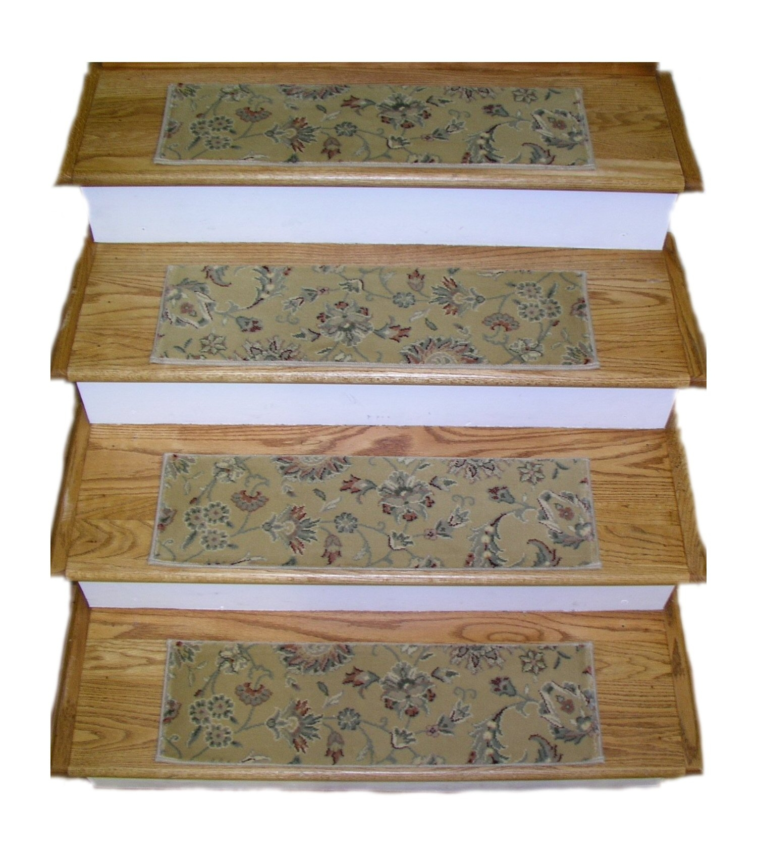 Finished Carpet Stair Treads Tread Sets For Stairs Carpet Treads Intended For 8 Inch Stair Treads (Image 6 of 15)