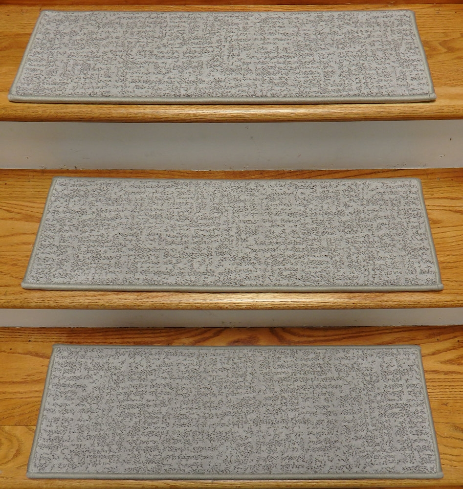 Finished Carpet Stair Treads Tread Sets For Stairs Carpet Treads Pertaining To Grey Carpet Stair Treads (View 6 of 15)