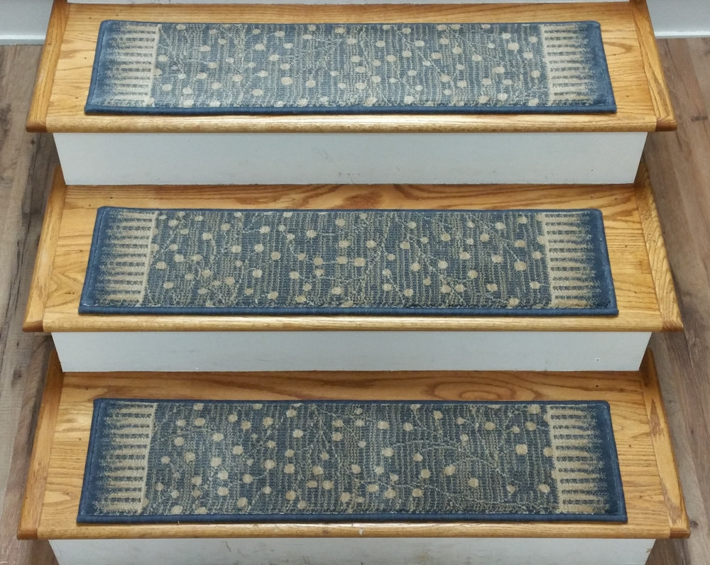 Finished Carpet Stair Treads Tread Sets For Stairs Carpet Treads Within 8 Inch Stair Treads (Image 11 of 15)