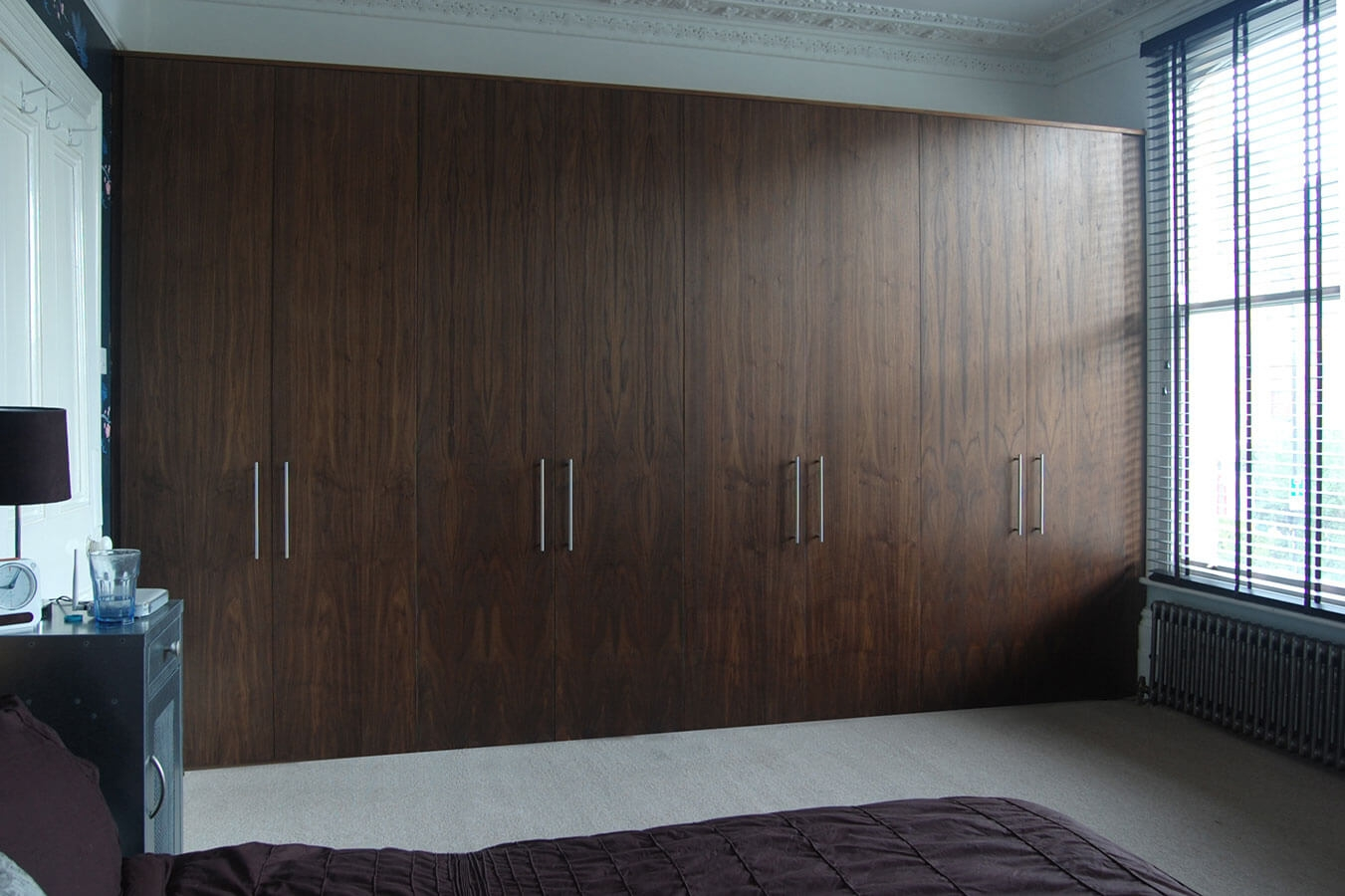 Fitted Bedrooms Wardrobes Beds And Chests Of Drawers Throughout Wall Wardrobes (Image 4 of 15)