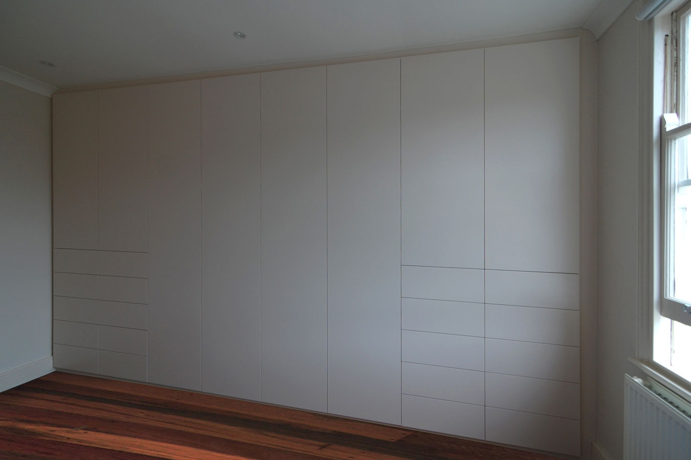Fitted Bedrooms Wardrobes Beds And Chests Of Drawers With Wall Wardrobes (Image 5 of 15)