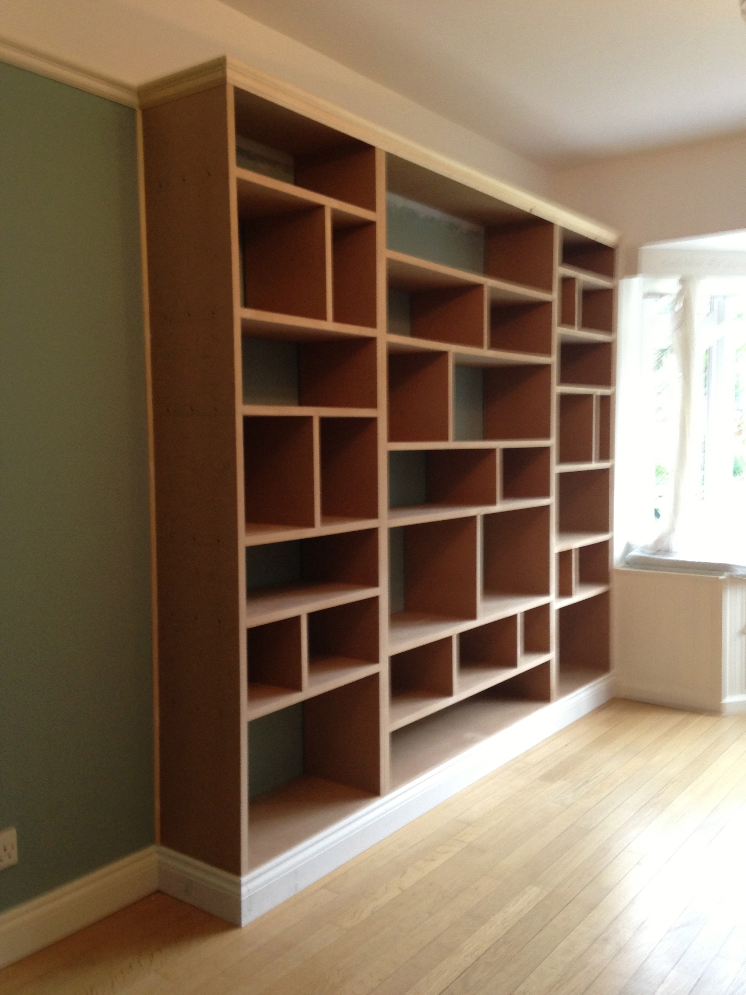 Fitted Shelving Cupboards And Flooring P D Carpentry Building Inside Fitted Shelves And Cupboards (Image 8 of 15)