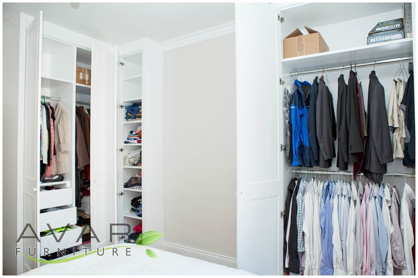 Fitted Wardrobe Ideas Gallery 15 North London Uk Avar Within Alcove Wardrobes Designs (Image 10 of 15)
