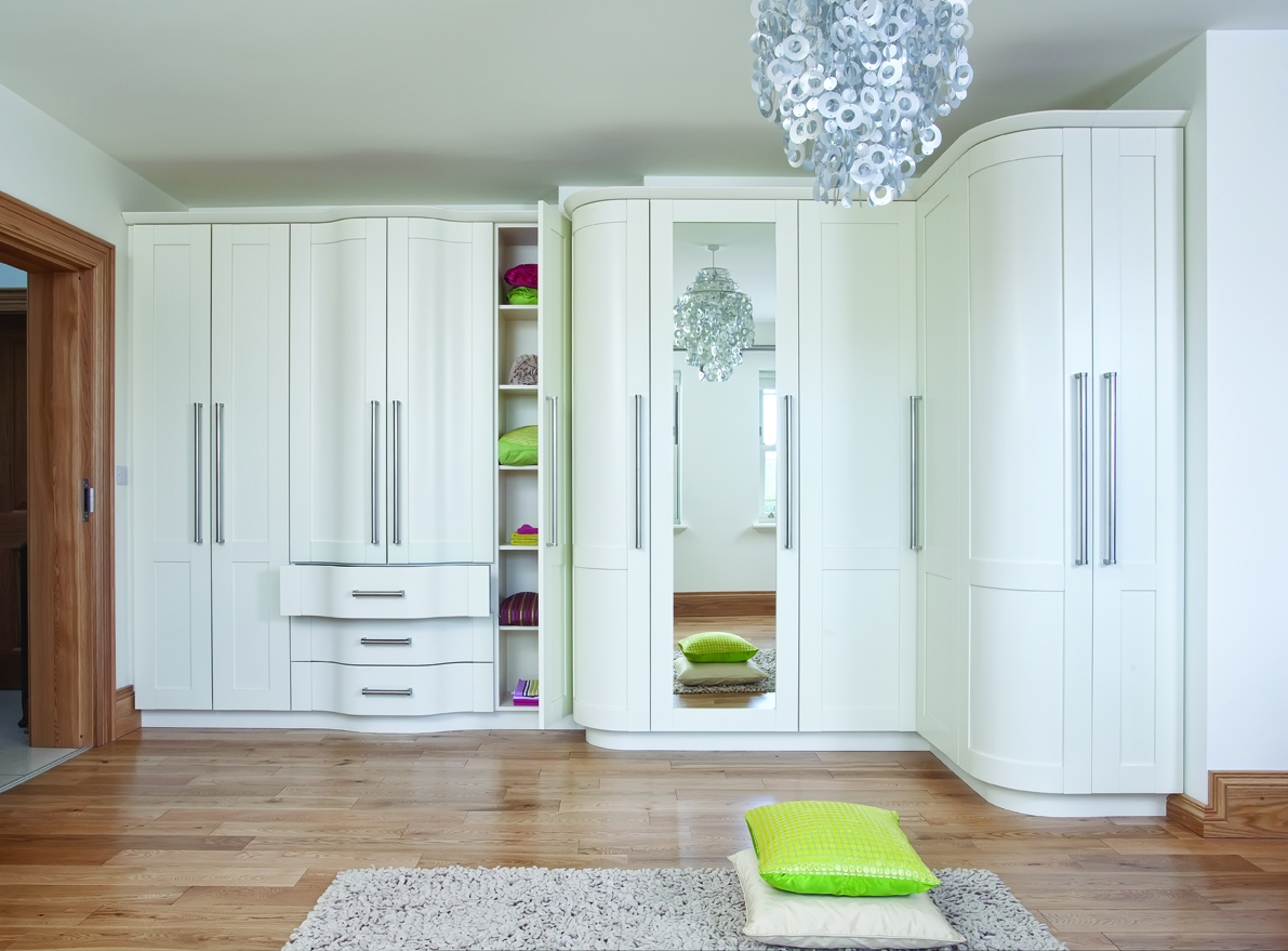 Fitted Wardrobes Grims Grand Design Kitchens Amp Bedrooms Inside Within Space Saving Wardrobes (Image 13 of 25)
