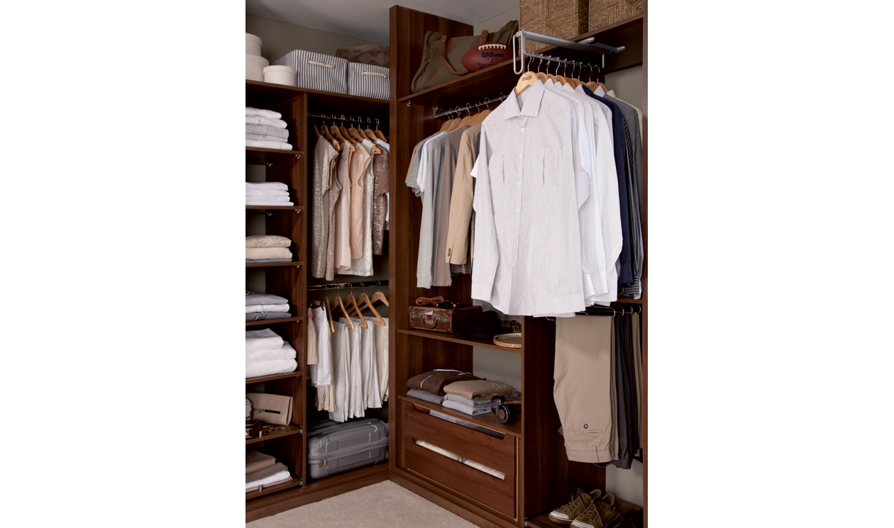 Fitted Wardrobes Provide Additional Storage Like These Single And For Wardrobe Double Hanging Rail (Image 10 of 15)