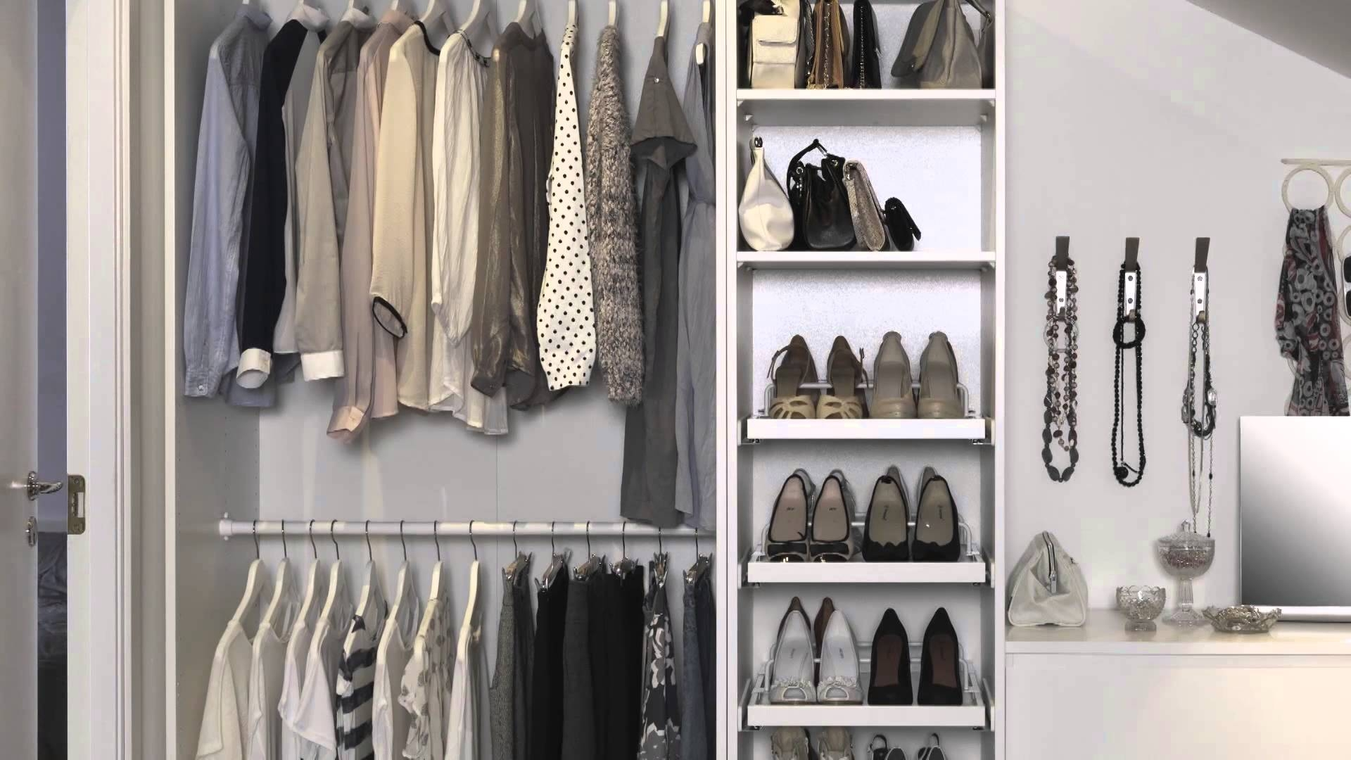 Flexible Clothing Storage Ikea Home Tour Youtube With Regard To Wardrobe Hangers Storages (Image 18 of 25)