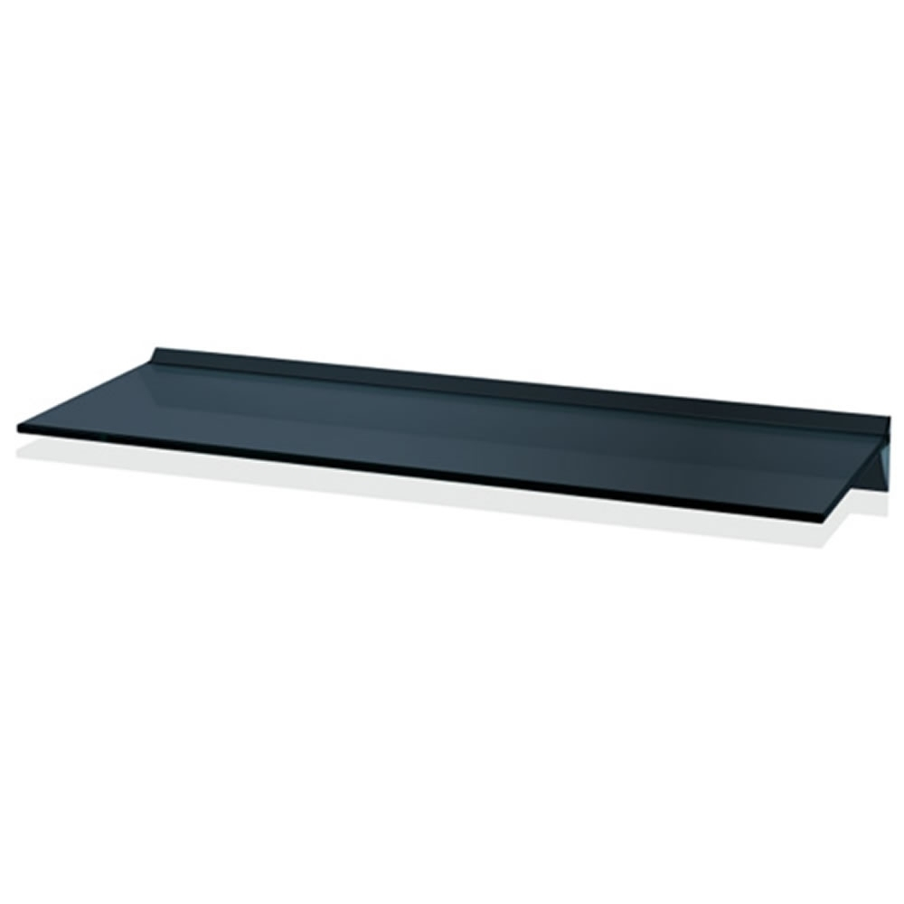 Floating Black Glass Shelves Gc810 Home Shelves For Floating Black Glass Shelves (Image 8 of 15)