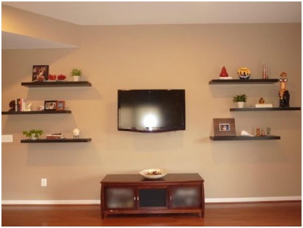 Floating Corner Shelf For Dvd Player Diy Floating Shelves Spackle For Corner Shelf For Dvd Player On Wall (Image 6 of 15)