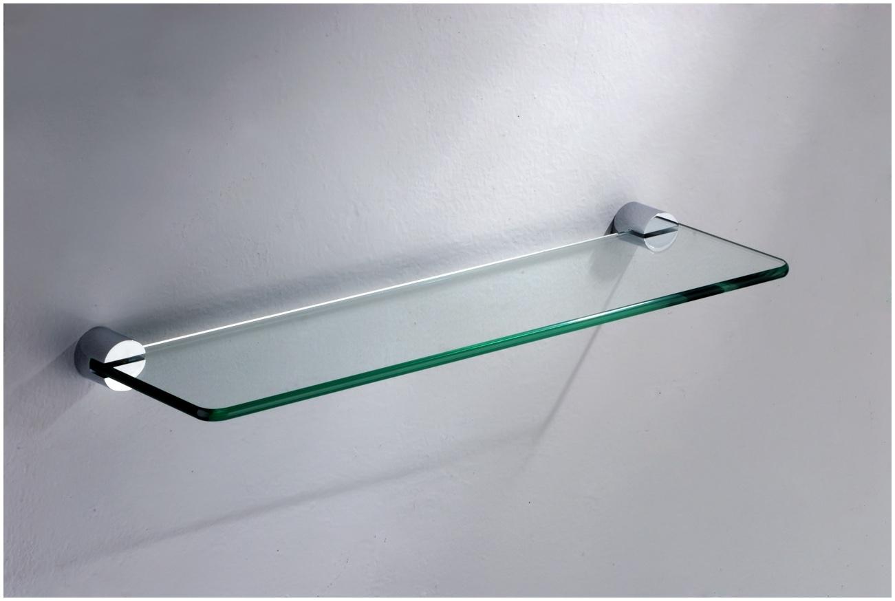 Floating Glass Shelf Ikea Red Floating Glass Shelf Floating Glass Pertaining To Floating Glass Shelves (Image 5 of 15)
