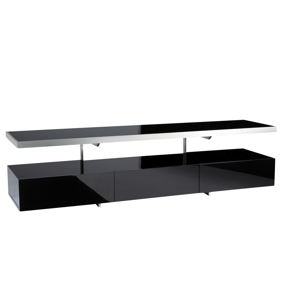 Floating Shelf Unit For Black Glass Floating Shelf (Image 8 of 15)