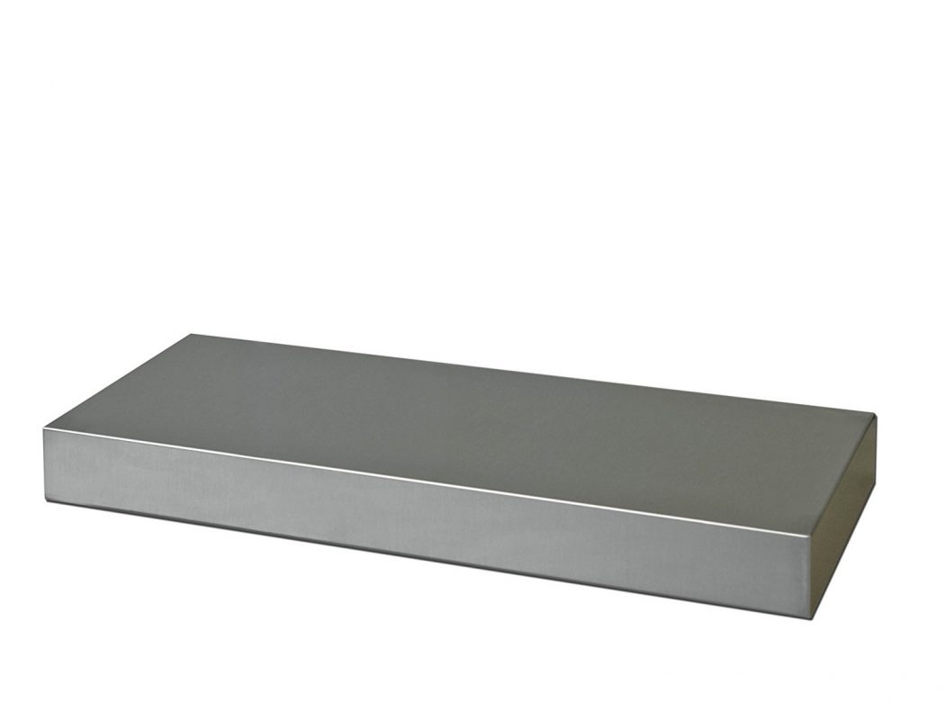 Floating Shelf White Best Stainless Steel Floating Shelves Rustic For 50cm Floating Shelf (Image 7 of 15)