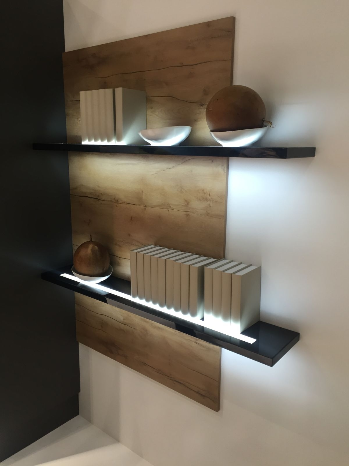 Floating Shelves With Lights Roselawnlutheran Throughout Led Floating Shelves (View 8 of 15)