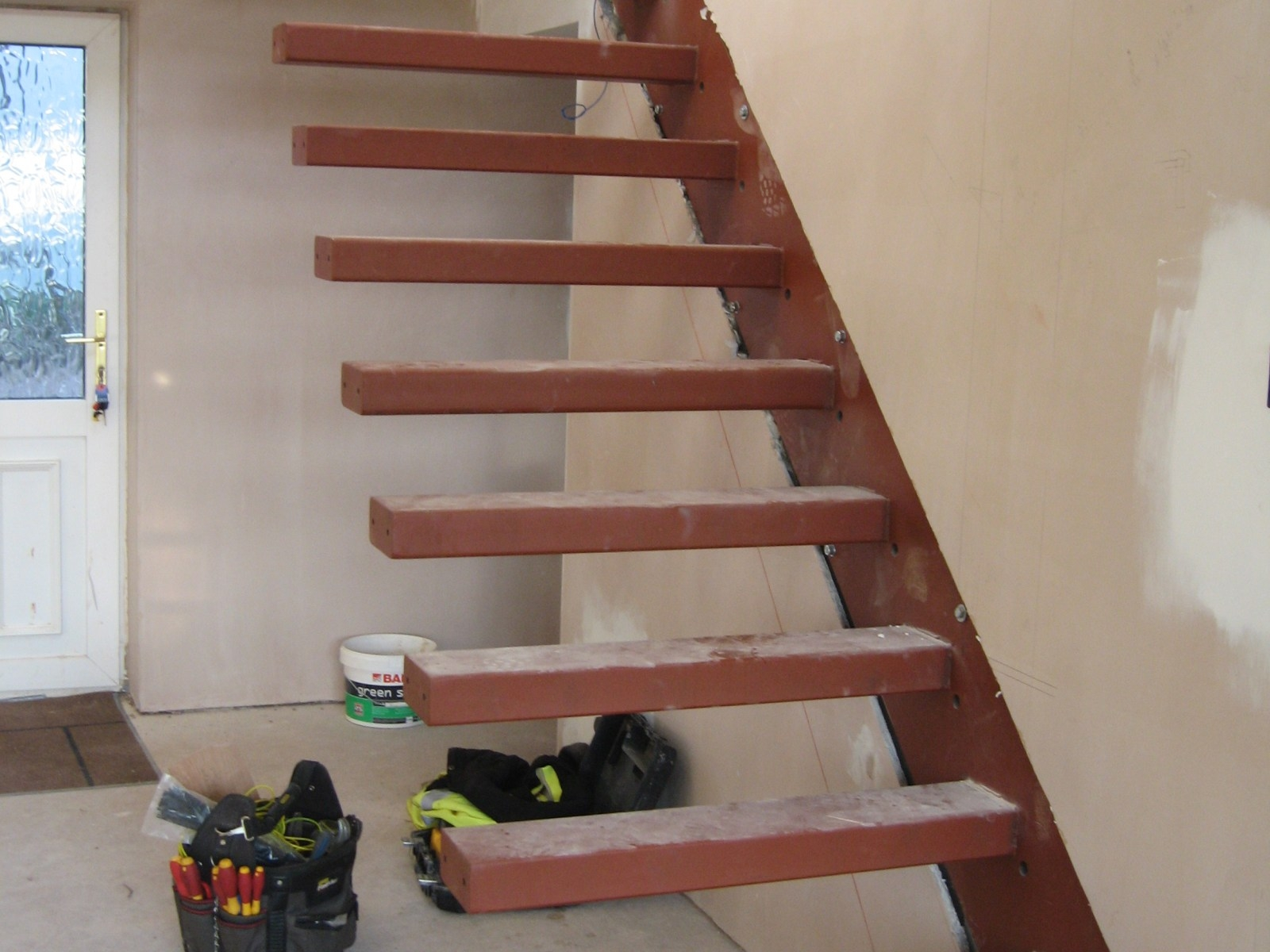 Floating Stair Treads 3455 With Contemporary Stair Treads (Image 6 of 15)