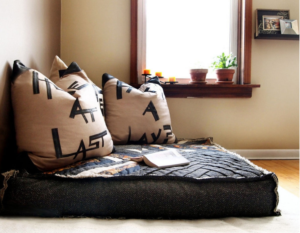 Floor Seating Cushions Houses Flooring Picture Ideas Blogule Within Moroccan Floor Seating Cushions (Photo 9 of 15)