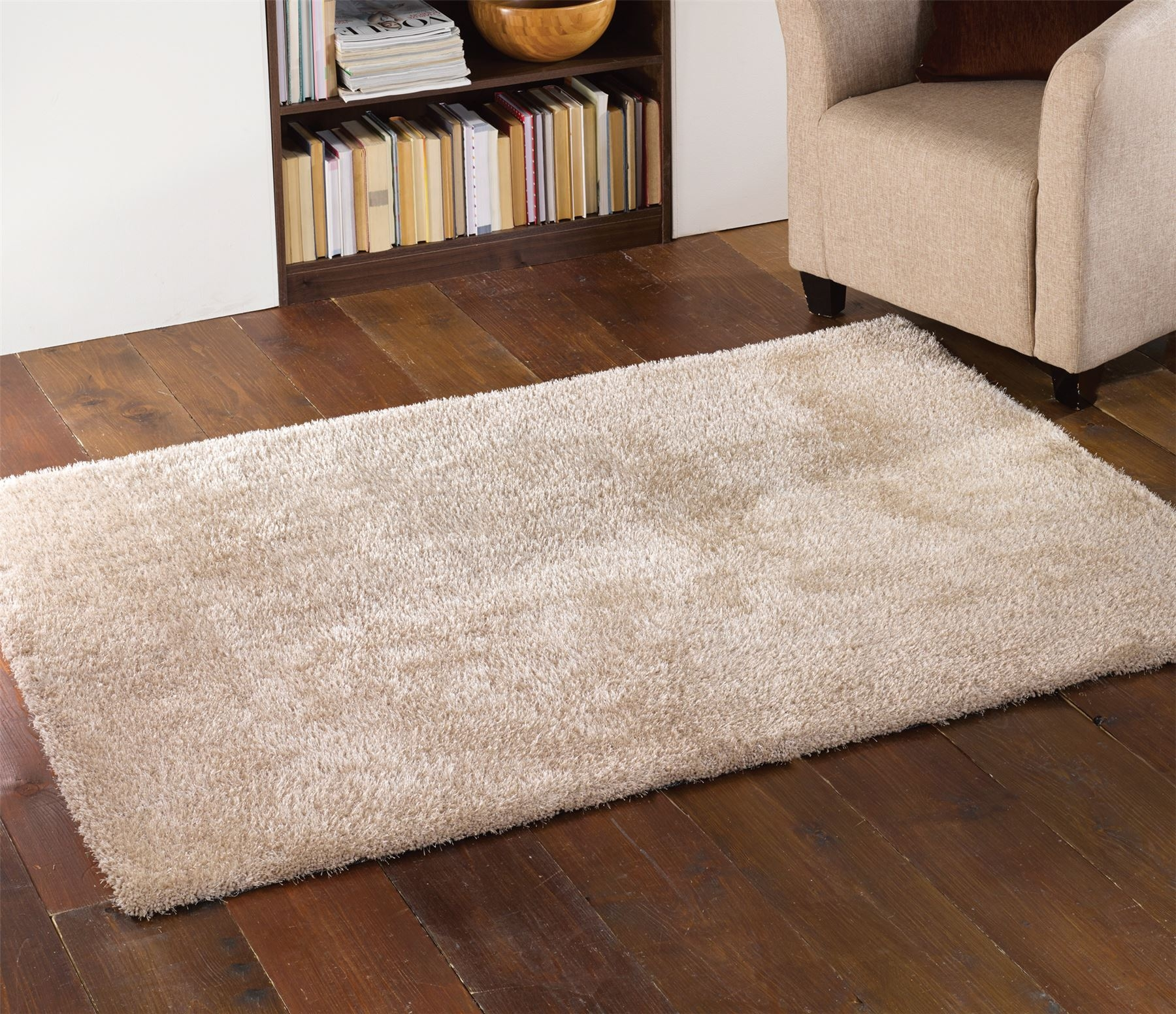 Flooring Enticing Cream Shag Rug For Decorating Your Floor In Cream Rugs (Image 11 of 15)