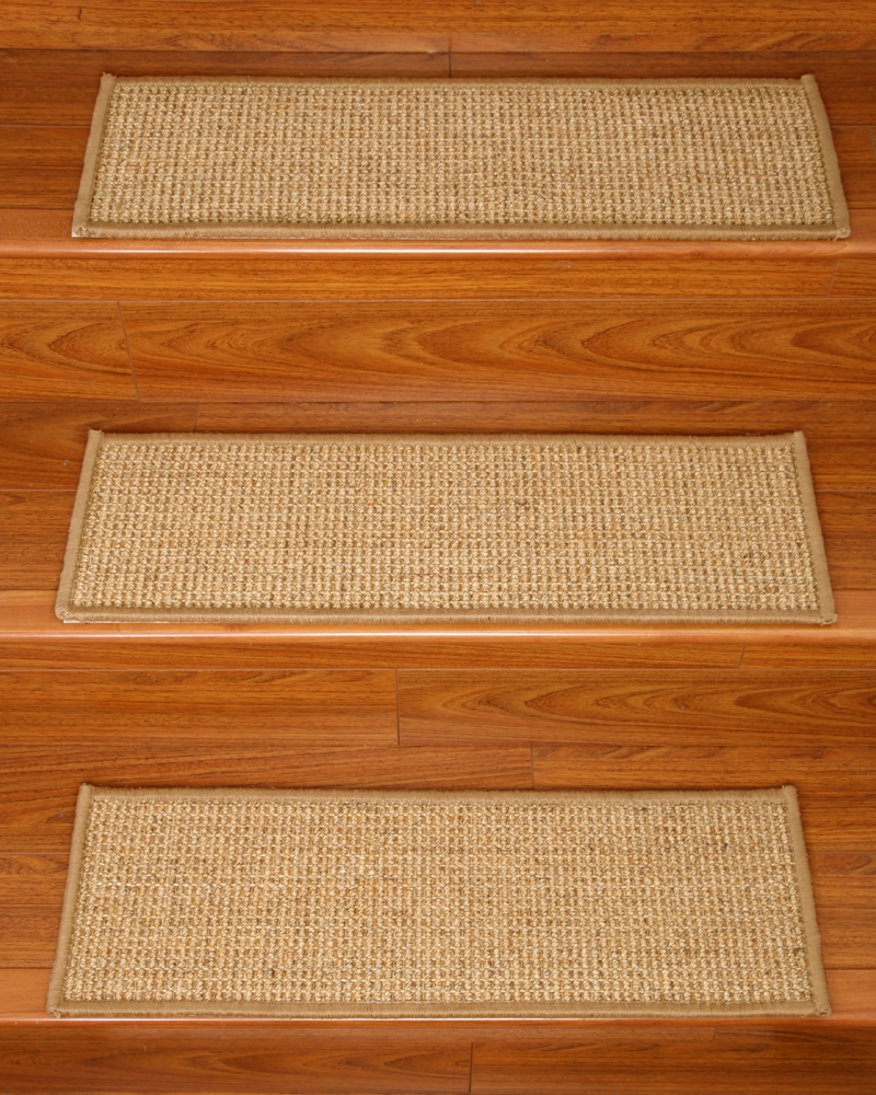Flooring Pretty Stair Treads Carpet For Stair Decoration Idea Pertaining To Stair Tread Rug Pads (Image 9 of 15)