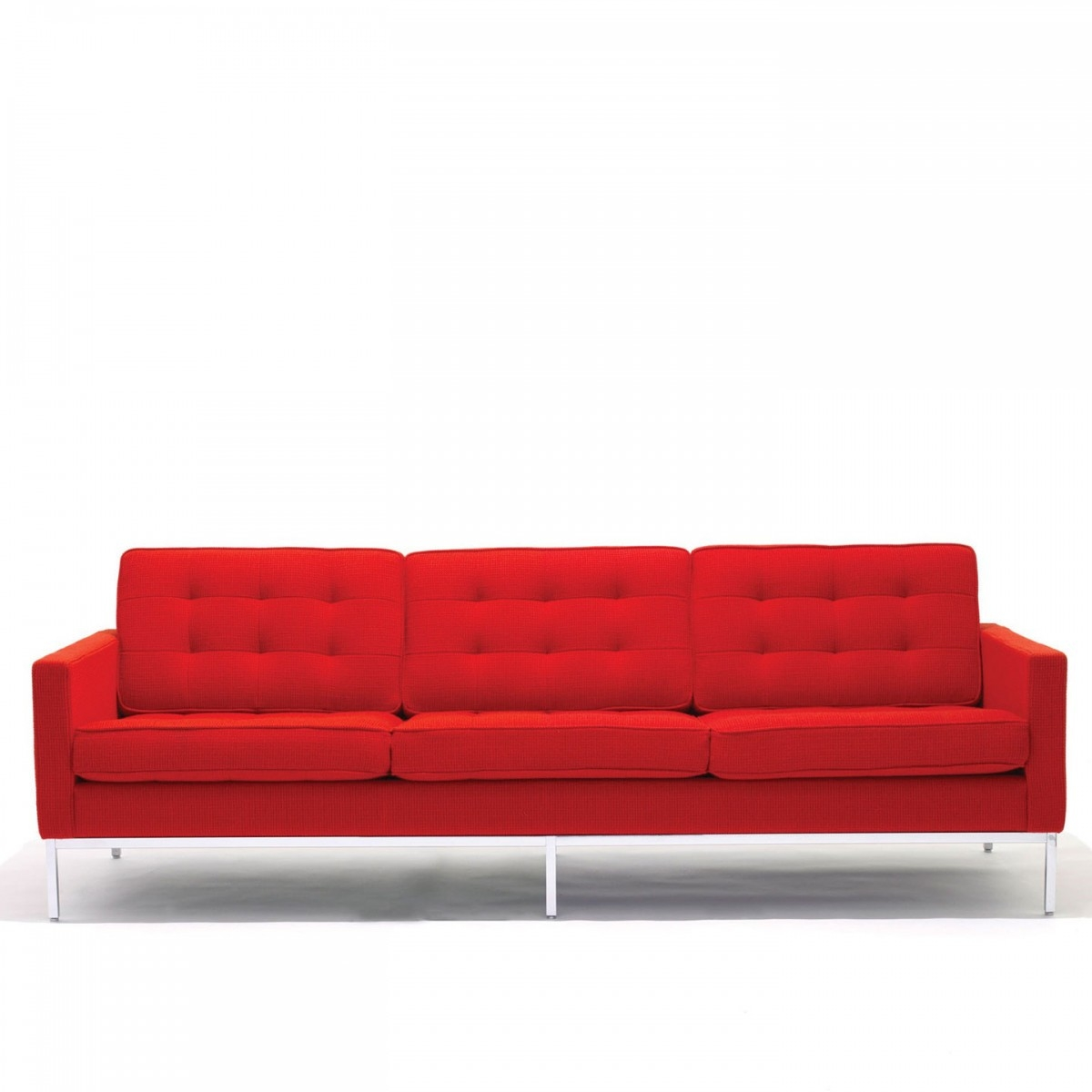 Florence Knoll 3 Seat Sofa In Florence Knoll 3 Seater Sofas (Image 5 of 15)