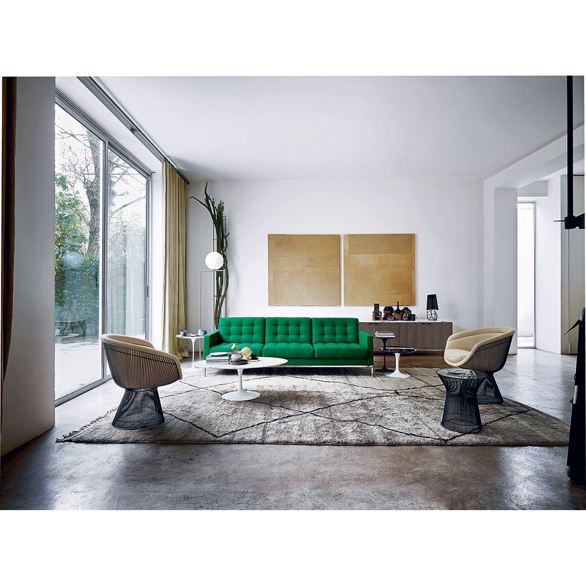 Florence Knoll Relax Sofa Skandium For Florence Knoll Living Room Sofas (Image 5 of 15)