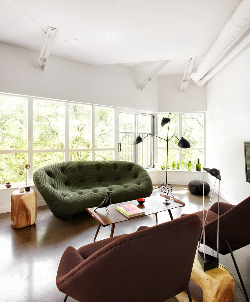 Florence Knoll Sofa Living Room Modern With Armchair Chair Curtain Intended For Florence Knoll Living Room Sofas (Image 9 of 15)