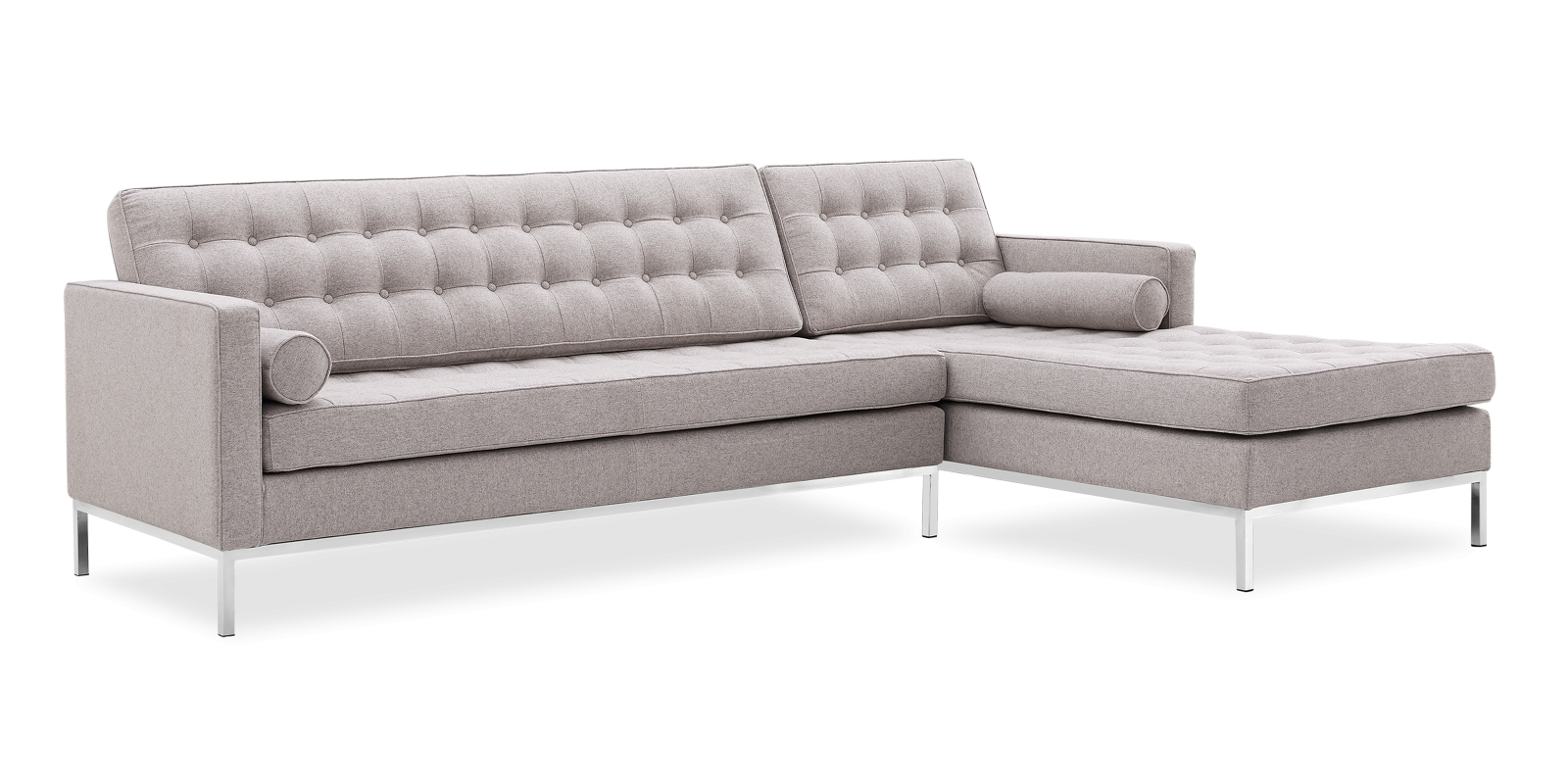 Florence Knoll Style Corner Sofa All With Regard To Florence Knoll Style Sofas (View 8 of 15)