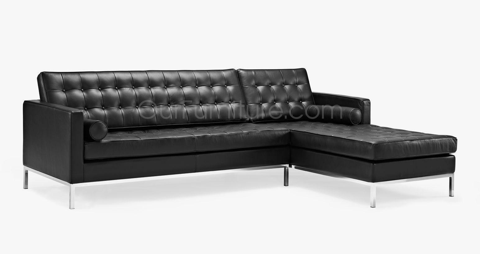 Florence Knoll Style Corner Sofa Pertaining To Florence Knoll Style Sofas (Image 8 of 15)
