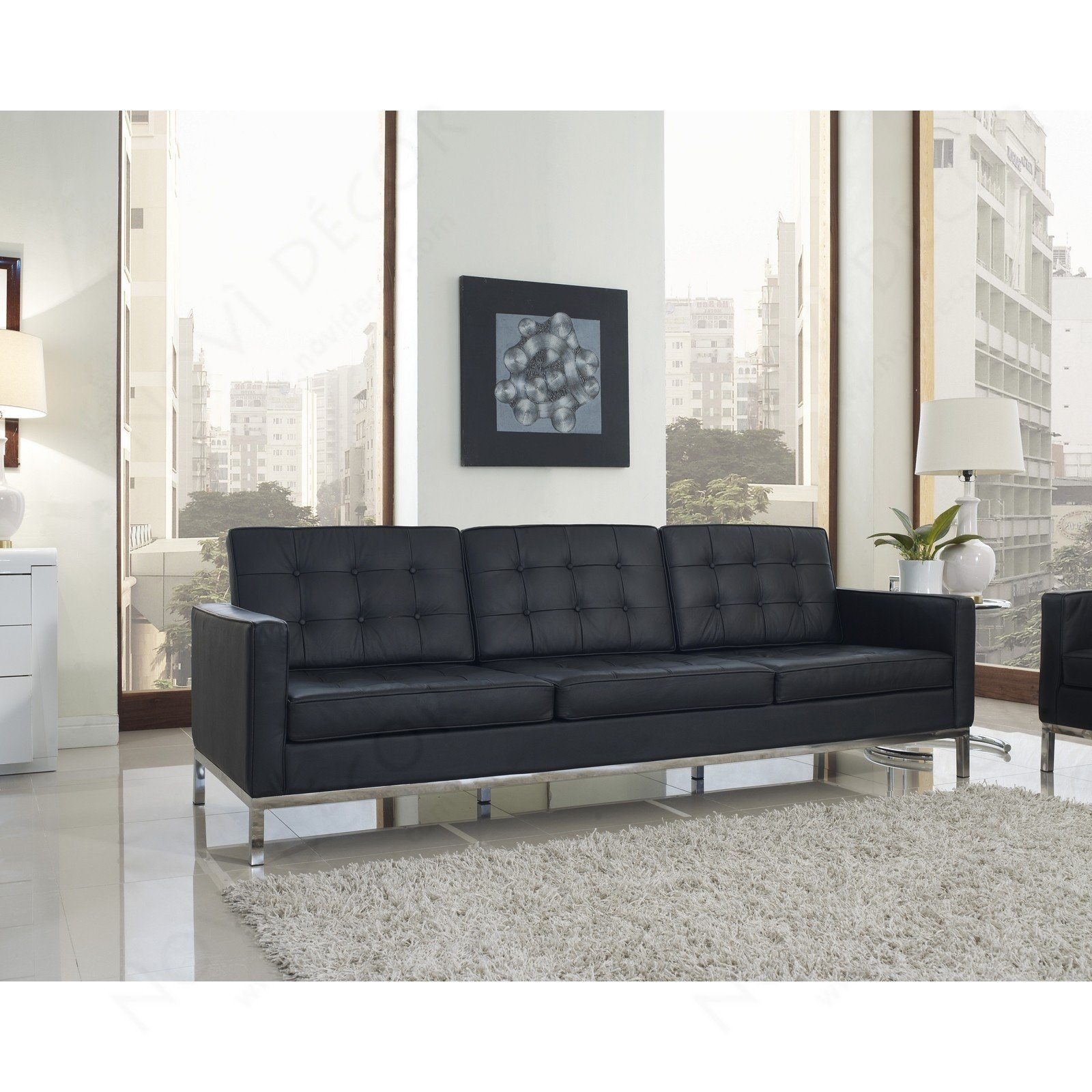 Florence Style Sofa Multiple Colors Designer Reproduction In Florence Leather Sofas (Image 8 of 15)