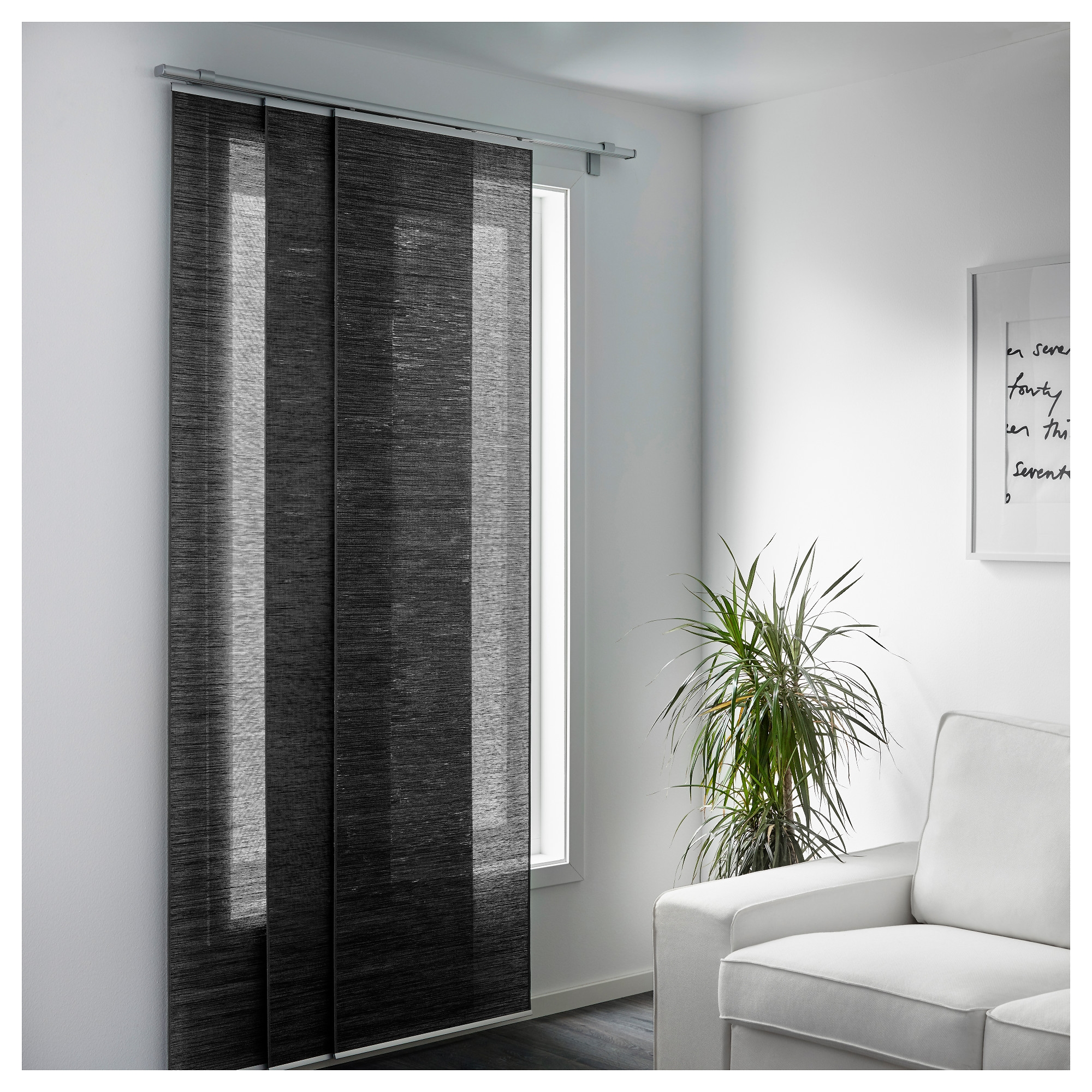 Fnsterviva Panel Curtain Ikea Regarding Room Curtain Divider IKEA (Image 11 of 25)