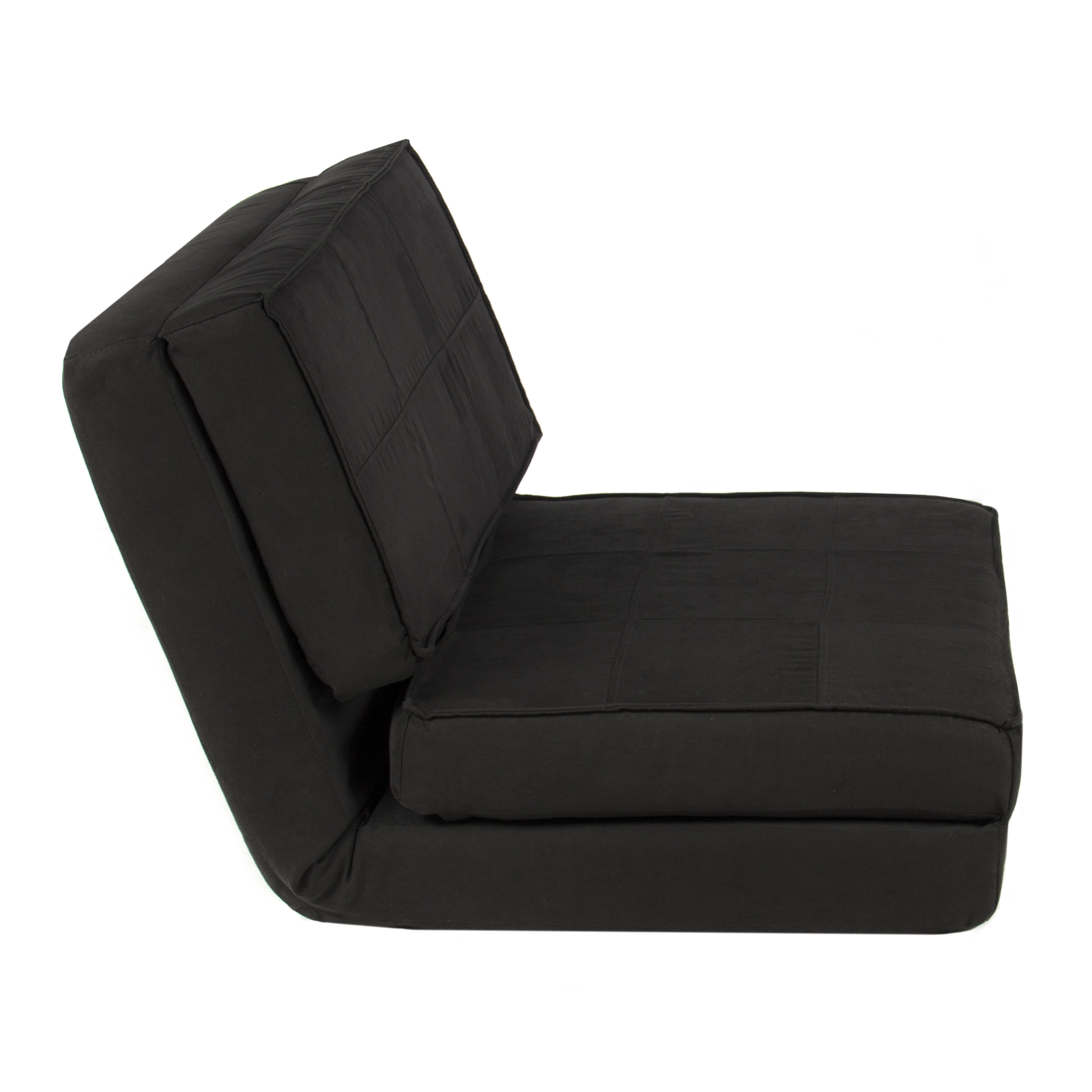 Fold Down Chair Flip Out Lounger Convertible Sleeper Bed Couch For Fold Up Sofa Chairs (Image 3 of 15)