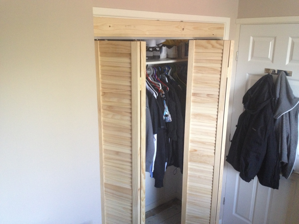 Folded Wardrobe Doors Villasilding Image With Regard To Folding Door Wardrobes (View 5 of 25)