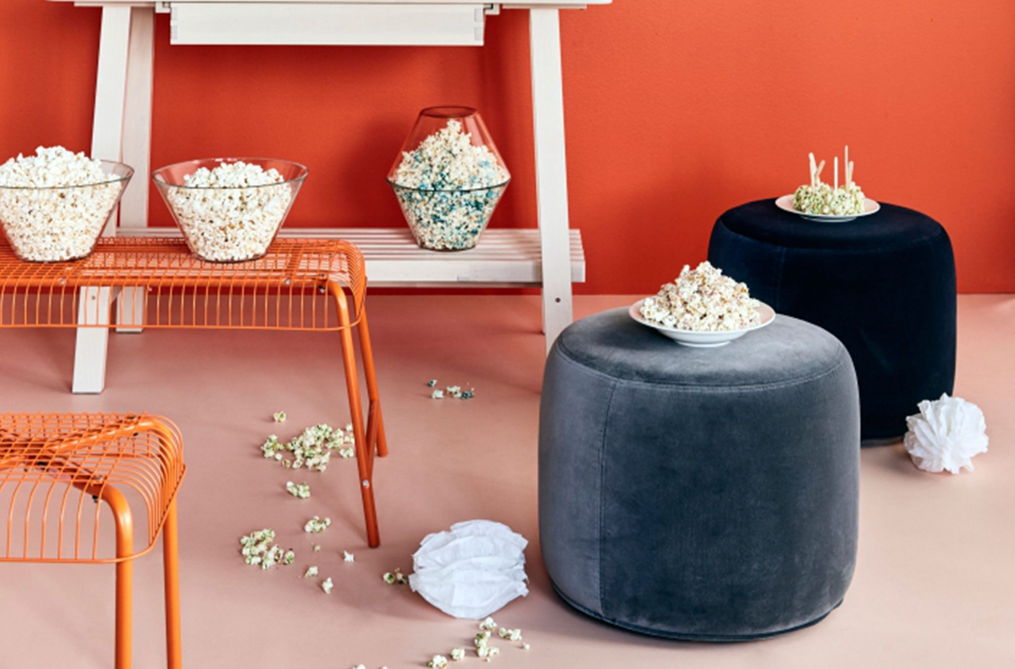 Footstools Ottomans Pouffes Ikea For Tesco Footstools And Pouffes (Image 5 of 15)