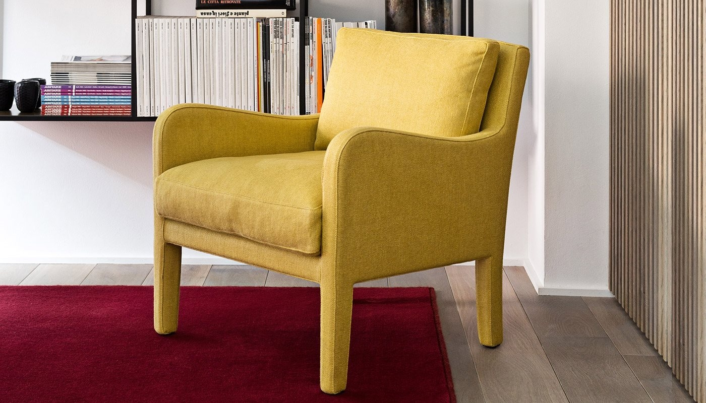 Forrest Soft Small Armchairs Meridiani Srl For Small Armchairs (View 10 of 15)