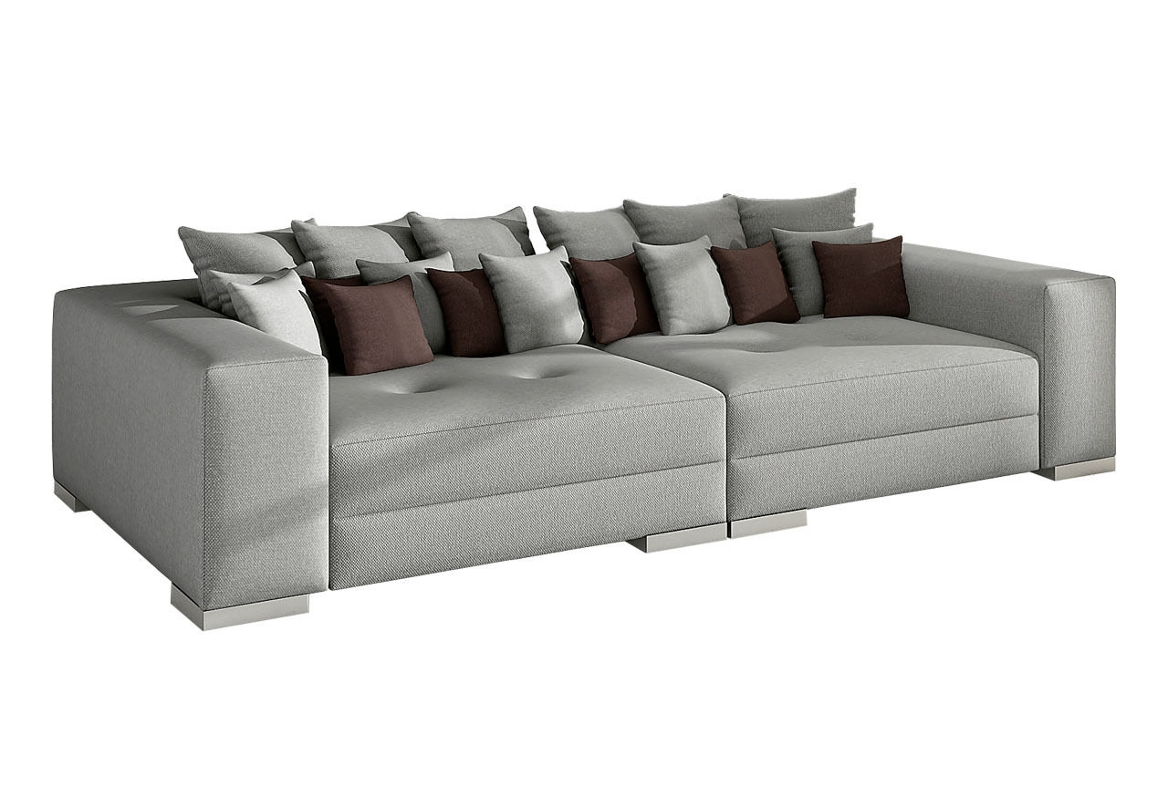 Four Seater Sofas Driade Megara Four Seater Sofa Seater Fabric Throughout 4 Seat Sofas (Image 11 of 15)