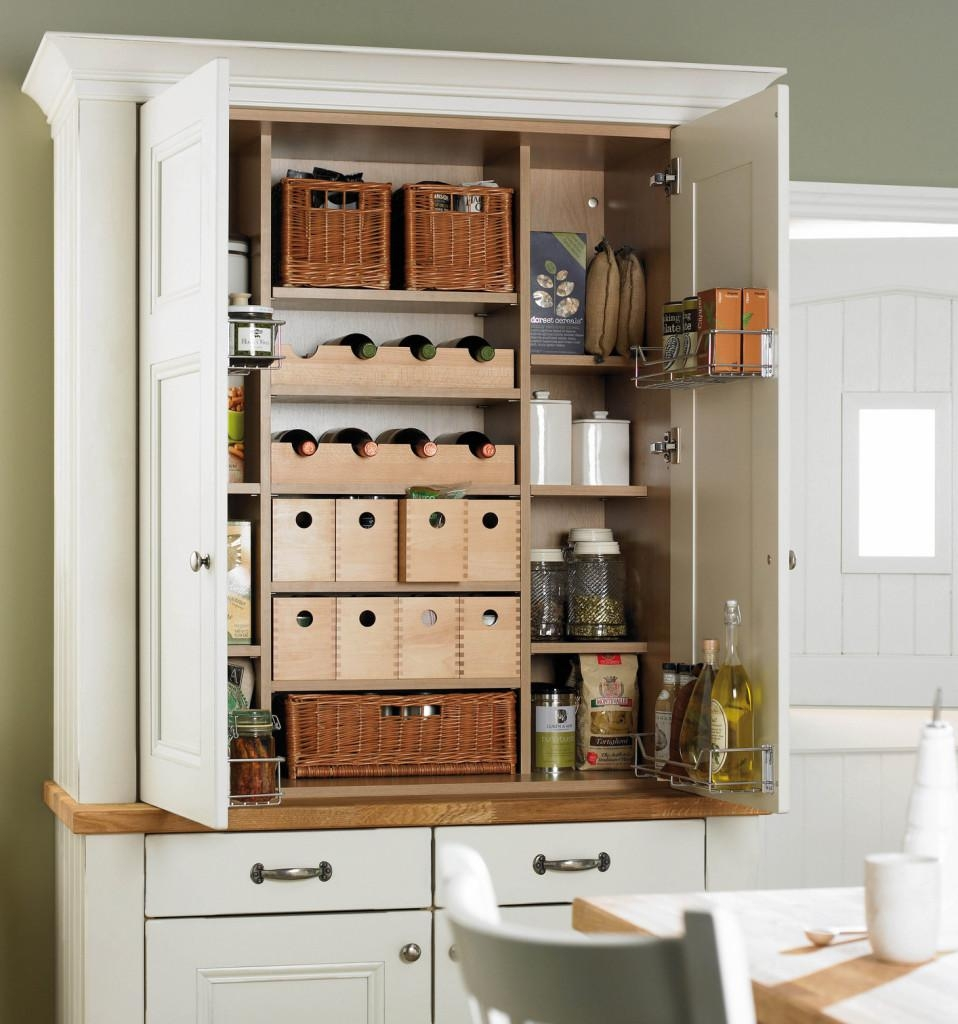 Free Standing Kitchen Pantry Trends Todayhome Design Styling Intended For Free Standing Kitchen Larder Cupboards (View 25 of 25)