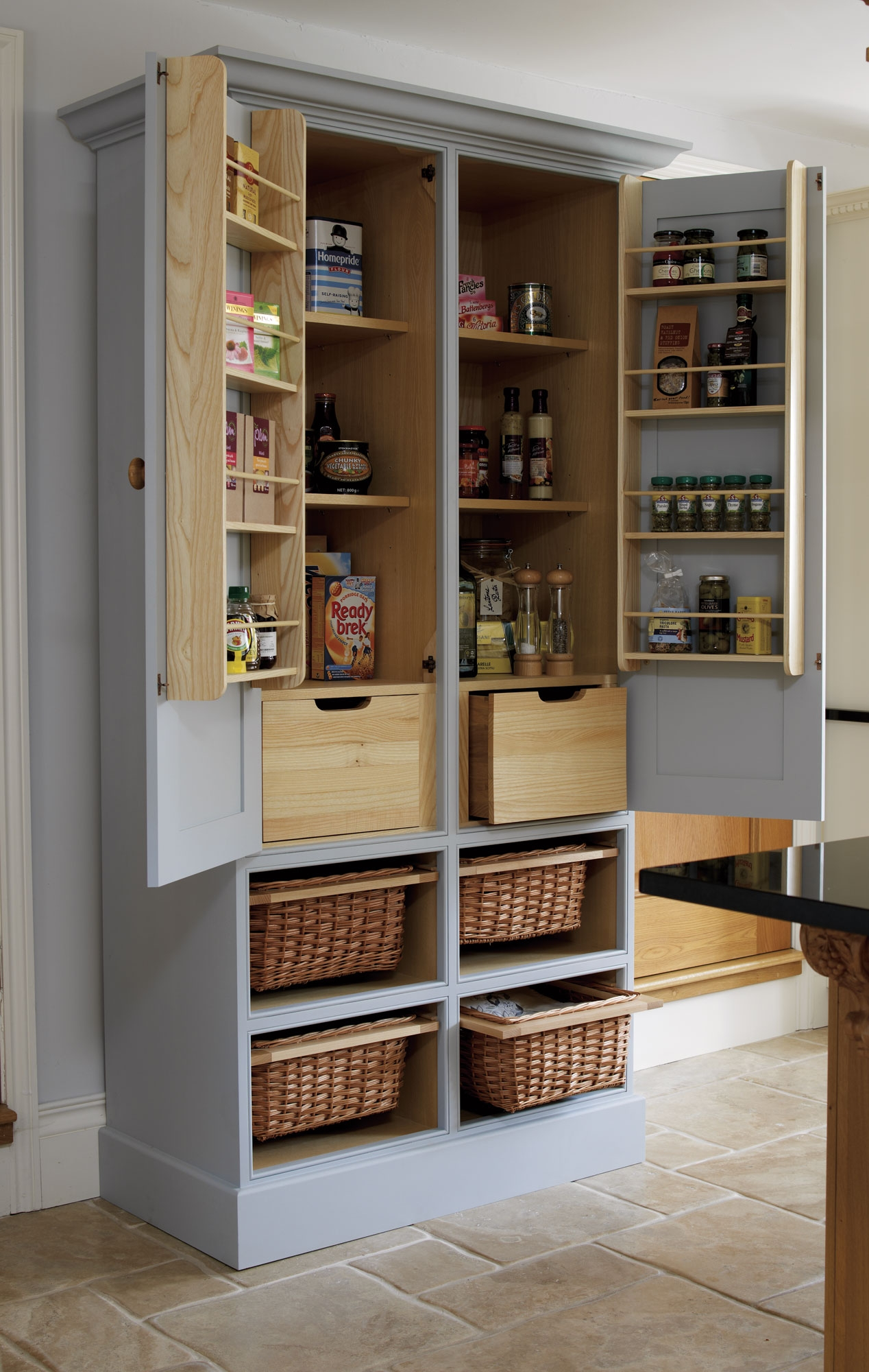 Featured Image of Free Standing Kitchen Larder Cupboards