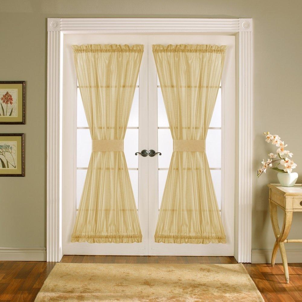 French Door Curtain Diy Curtain Menzilperde Regarding Doorway Curtains (View 17 of 25)