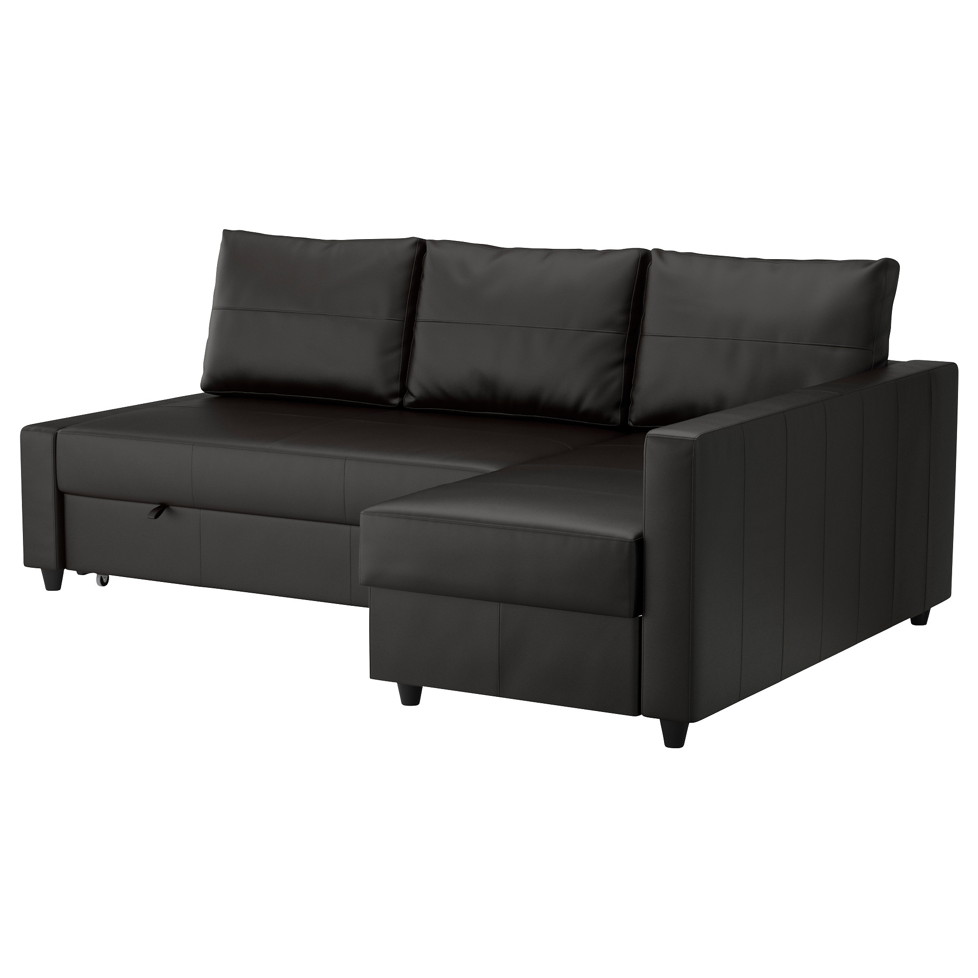 Friheten Corner Sofa Bed With Storage Bomstad Black Ikea With Corner Couch Bed (Image 6 of 15)