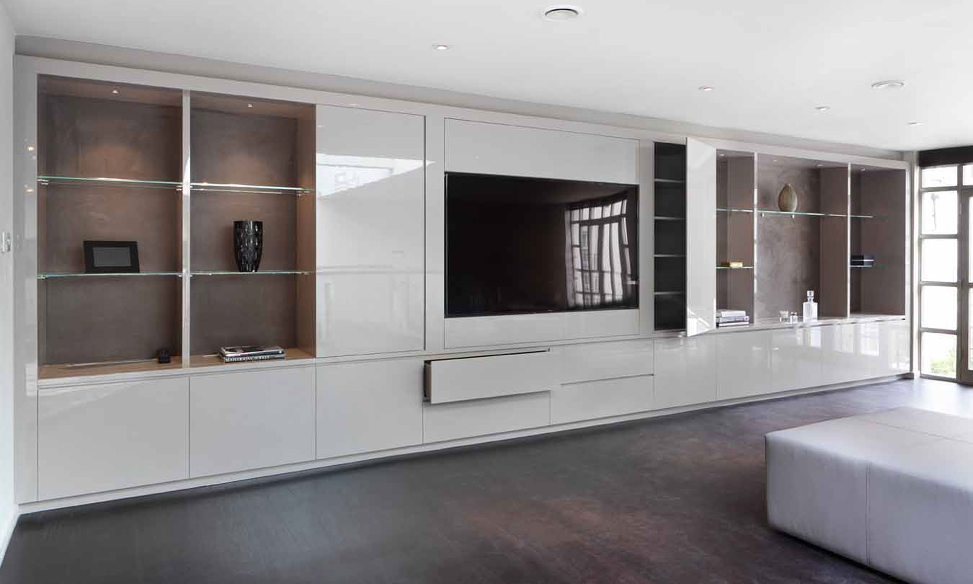 From Clutter To Calm Bespoke Furniture Designer In Built In Wardrobes With Tv Space (Image 7 of 15)